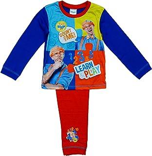 Pijama para niños Get Wivvit Blippi Pijamas Count with Me Aprender & Play Tamaños de 18 meses a 5 años