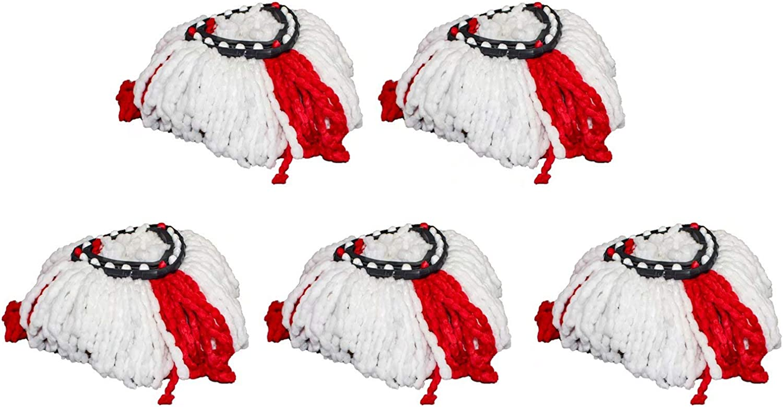 5 PCS Microfiber Mop Head Selling rankings Replacement ALYYDBG Max 49% OFF 0 R Cedar for