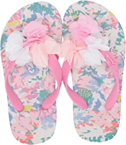 4989d06ab White Mermaid Floral. Joules Kids. Flip-Flop ...