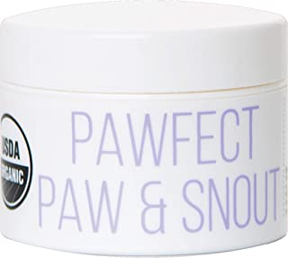Kibble Pet Pawfect Paw & Snout Balm | Hypoallergenic | Made with Natural and Organic Ingredients | USDA Certified Organic...