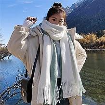 SLM-max sjaal vrouwen,Damessjaals Dames Grote, zachte omslagdoeken Vierkante sjaal Warme geruite sjaal Mode dekensjaal Dam...