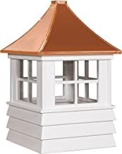East Coast Weathervanes and Cupolas Vinyl Rochester Cupola (Vinyl, 21 in square x 36 in tall)