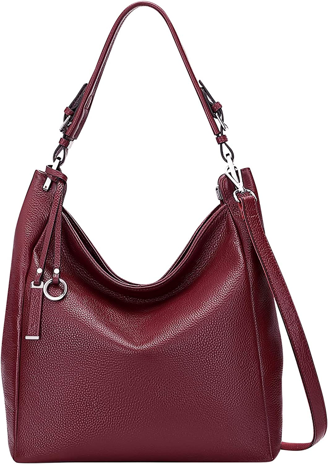 ALTOSY Shoulder Bags for Women Hobo Genuine Ladies Leather Spasm price Max 68% OFF Large