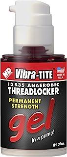 Best Vibra-TITE - 13535 135 Permanent Strength Gel Anaerobic Threadlocker, 35 ml Pump, Red Review