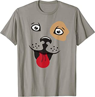 Happy Dog Puppy Emoticon Smile Face Gift T-Shirt