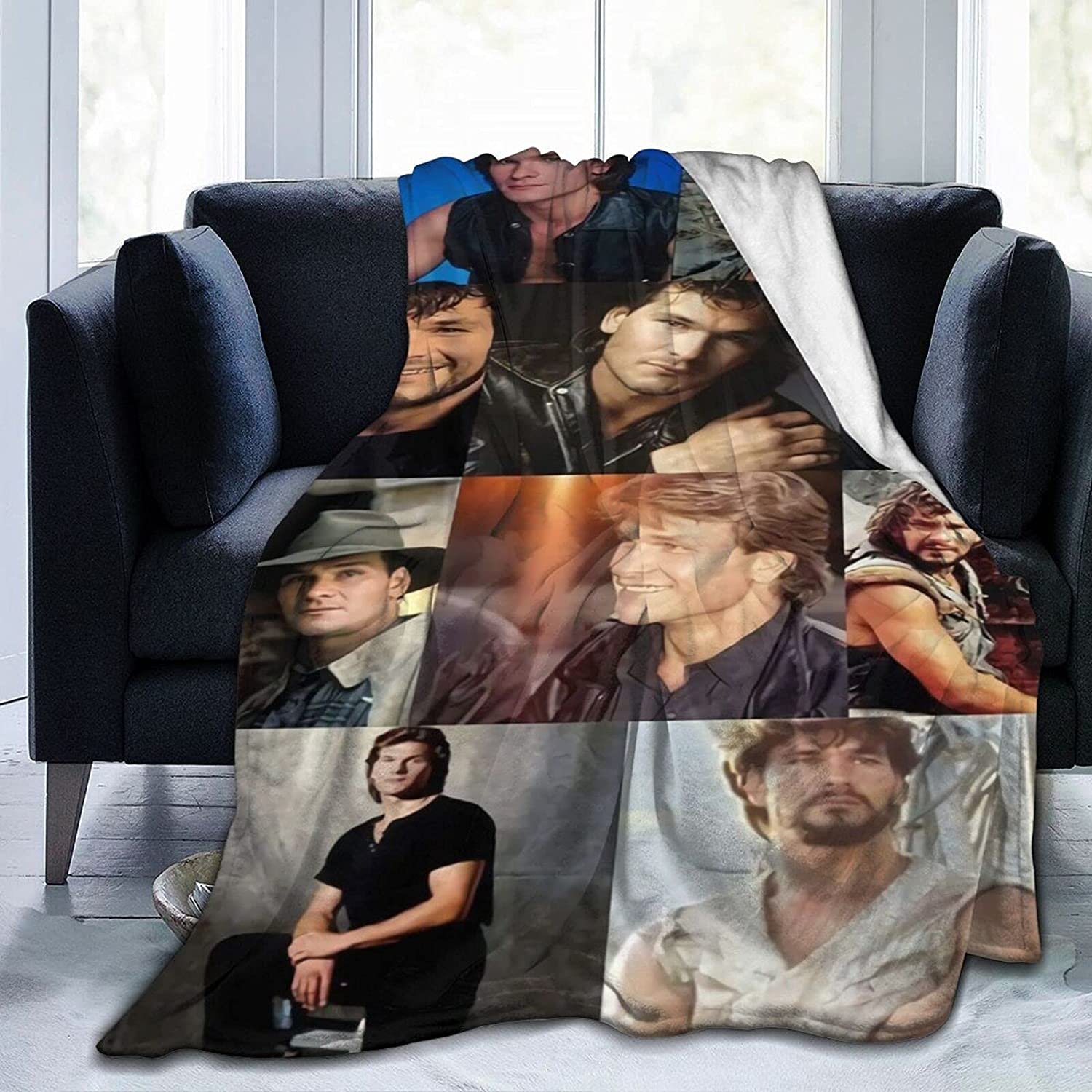 Blanket Patrick Free shipping Today's only Swayze Soft Warm Fluffy for Lightweight