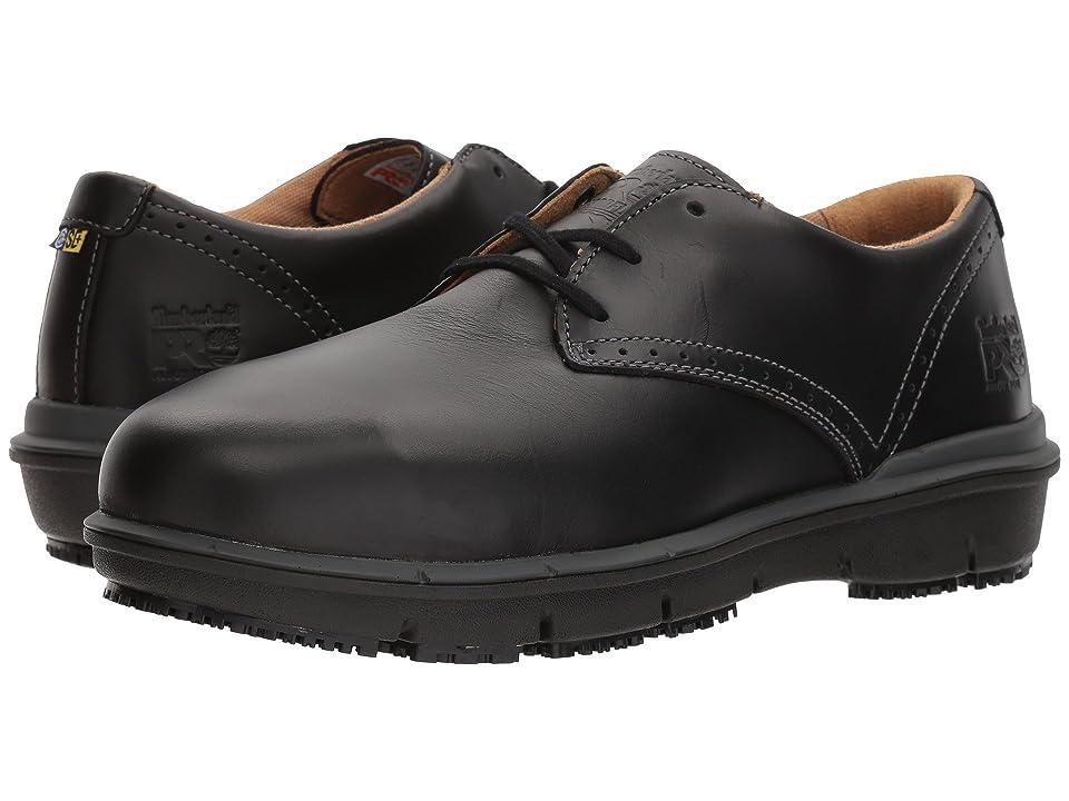 Timberland PRO Boldon Oxford Alloy Safety Toe SD (Black Full Grain Leather) Men
