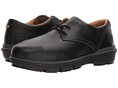 Timberland PRO Boldon Oxford Alloy Safety Toe SD (Black Full Grain Leather) Men