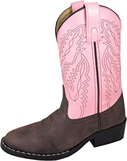 Smoky Mountain Boys' Snake Print Cowboy Boot Round Toe …