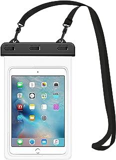 MoKo Universal Waterproof Case, Tablet Dry Bag Pouch for iPad Mini 2019/4/3/2, Samsung Tab 5/4/3, Galaxy Note 8, Tab S2/Tab E/Tab A 8.0, LG G Pad III 8.0, Google Nexus 7(FHD) & More Up to 8.3