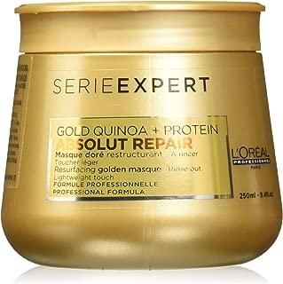 Loreal Serie Expert Absolut Repair Resurfacing Gold Quinoa Protein Mask Masque - 8.4 oz