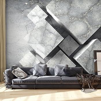 murando Papier peint intiss/é 350x256 cm D/écoration Murale XXL Poster Tableaux Muraux Tapisserie Photo Trompe loeil bois balle 3D f-A-0322-a-a