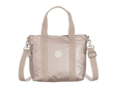 Kipling Asseni Mini Tote Bag (Metallic Glow) Tote Handbags