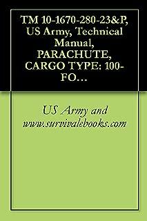 TM 10-1670-280-23&P, US Army, Technical Manual, PARACHUTE, CARGO TYPE: 100-FOOT DIAMETER, MODEL G-11B, G-11C, AND G-11D, NSN 1670-01-016-7841, 2002
