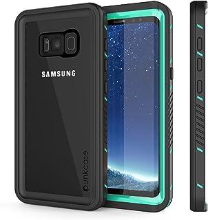 PunkCase Galaxy S8 Waterproof Case, [Extreme Series] [Slim Fit] [Ip68 Certified] [Shockproof] [Snowproof] [Dirproof] Armor...