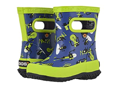 Bogs Kids Skipper Robots (Toddler/Little Kid) (Navy Multi) Kids Shoes
