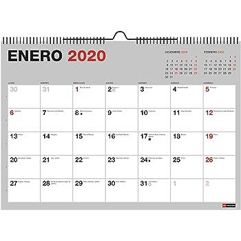 Miquelrius 28009 - Calendario pared: Amazon.es: Oficina y papelería