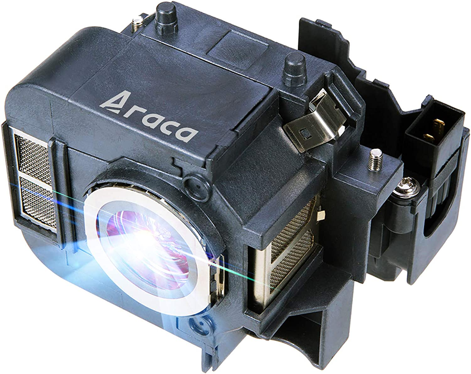 Araca ELPLP50 Projector Lamp with Housing for Epson EB-85 H353A H296A EB-824H PowerLite 84 /PowerLite 84+ /PowerLite 85 /PowerLite 825 Replacement Projector Lamp