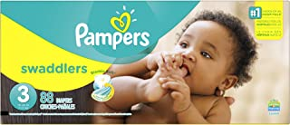 Pampers Swaddlers Disposable Diapers Size 3, 88 Count, SUPER