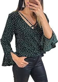 Best green polka dot shirt womens Reviews