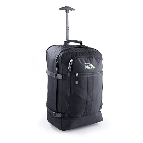 fc210ca50dbf Cabin Max Lyon Flight Approved Bag Wheeled Carry On Luggage - Backpack 21    X