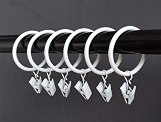 CAFE Collection White Curtain Rings \u00d816mm Pack of 20
