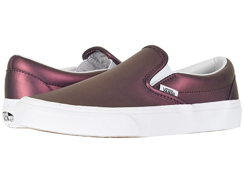 Vans Classic Slip-Ontm ((Muted Metallic) Red/Gold) Skate Shoes