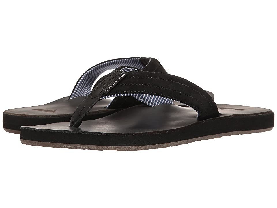 Quiksilver Carver Crew (Black/Black/Brown) Men's Sandals