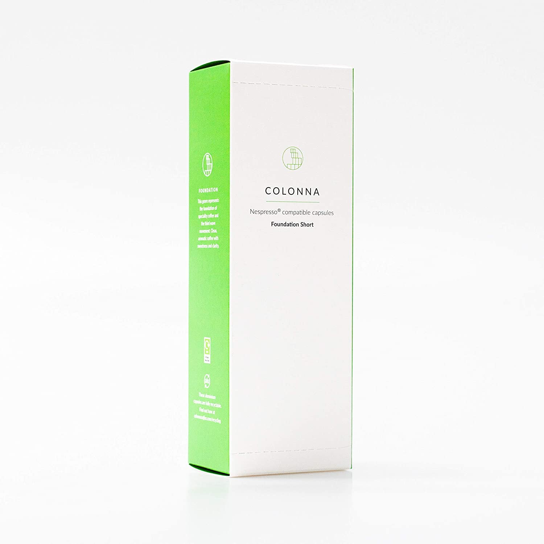 Colonna Coffee Recyclable Aluminium Nespresso Compatible Single All items free shipping Popular brand