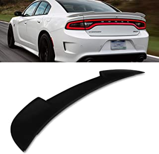 Modifystreet For 2015-2018 Dodge Charger Factory Style Trunk Flush Mount Rear Trunk Spoiler Wing