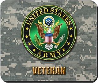 96935bfd134b CafePress - U.S. Army Veteran - Non-Slip Rubber Mousepad