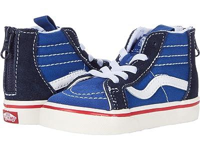 Vans Kids Sk8-Hi Zip (Infant/Toddler) ((Retro Sport) Limoges/Parisian Night) Boys Shoes