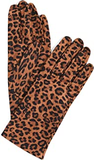 Women's Leopard Print Gloves