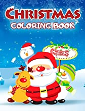 Christmas Coloring Book: 30 Exclusive Illustrations for Kids