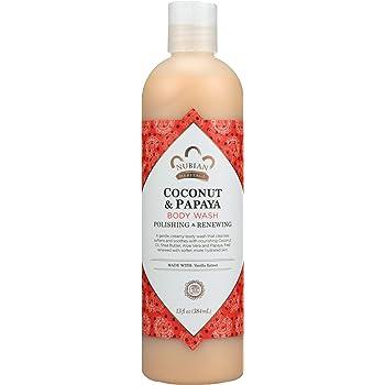 Nubian Heritage Body Wash, Coconut and Papaya, 13 Fluid Ounce