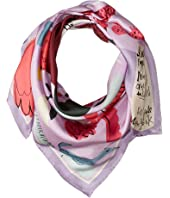 Kate Spade New York - Café Scene Silk Square Scarf