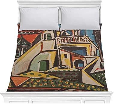 RNK Shops Mediterranean Landscape by Pablo Picasso Comforter - Full/Queen