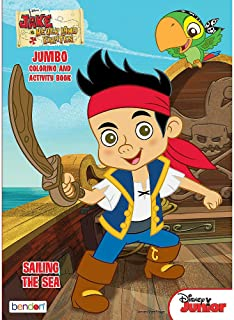 Bendon Publishing Jake and The Neverland Pirates Sailing The Sea Color and Activity Book - 64 Pages