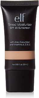e.l.f. Cosmetics Tinted Moisturizer, Light Coverage, UVA/UVB SPF 20 Protection, Ivory, 0.88 Fluid Ounces