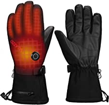 VELAZZIO [Upgrade] Thermo1 Battery Heated Gloves - 3 Heating Levels w/Intelligent Control, up to 8hrs Warmth, 3M Thinsulat...