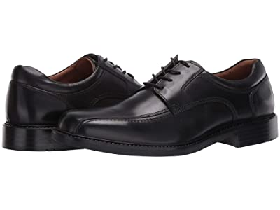 Johnston & Murphy Tabor Runoff Lace-Up (Black Calfskin) Men