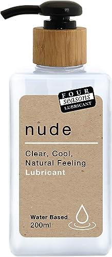 Four Seasons Nude Water Based Lubricant, 200 milliliters
