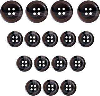 5 TOGGLE  Buttons 25mm Dark Green
