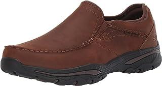حذاء كرستون ارتي الجلدي بتصميم سهل الارتداء بدون كعب للرجال سكيتشرز