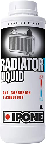IPONE - Liquide de refroidissement Moto - Bidon 1 Litre - Radiator Liquid - Protection Anti-Gel jusqu'à -36°C - Techn...