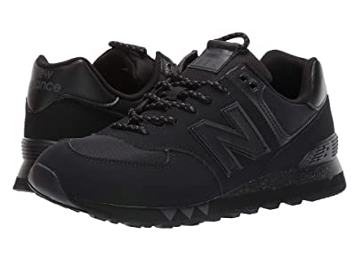 New Balance Classics ML574v2 (Black/Gunmetal) Men