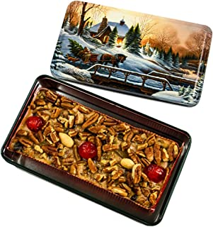 Grandma's Famous Fruit and Nut Cake 1 Pound in Collectible Tin