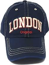 Robin Ruth Blue Cotton London Baseball Cap
