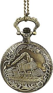 Reloj de Bolsillo Reloj de Bolsillo clásico de Cuarzo Reloj