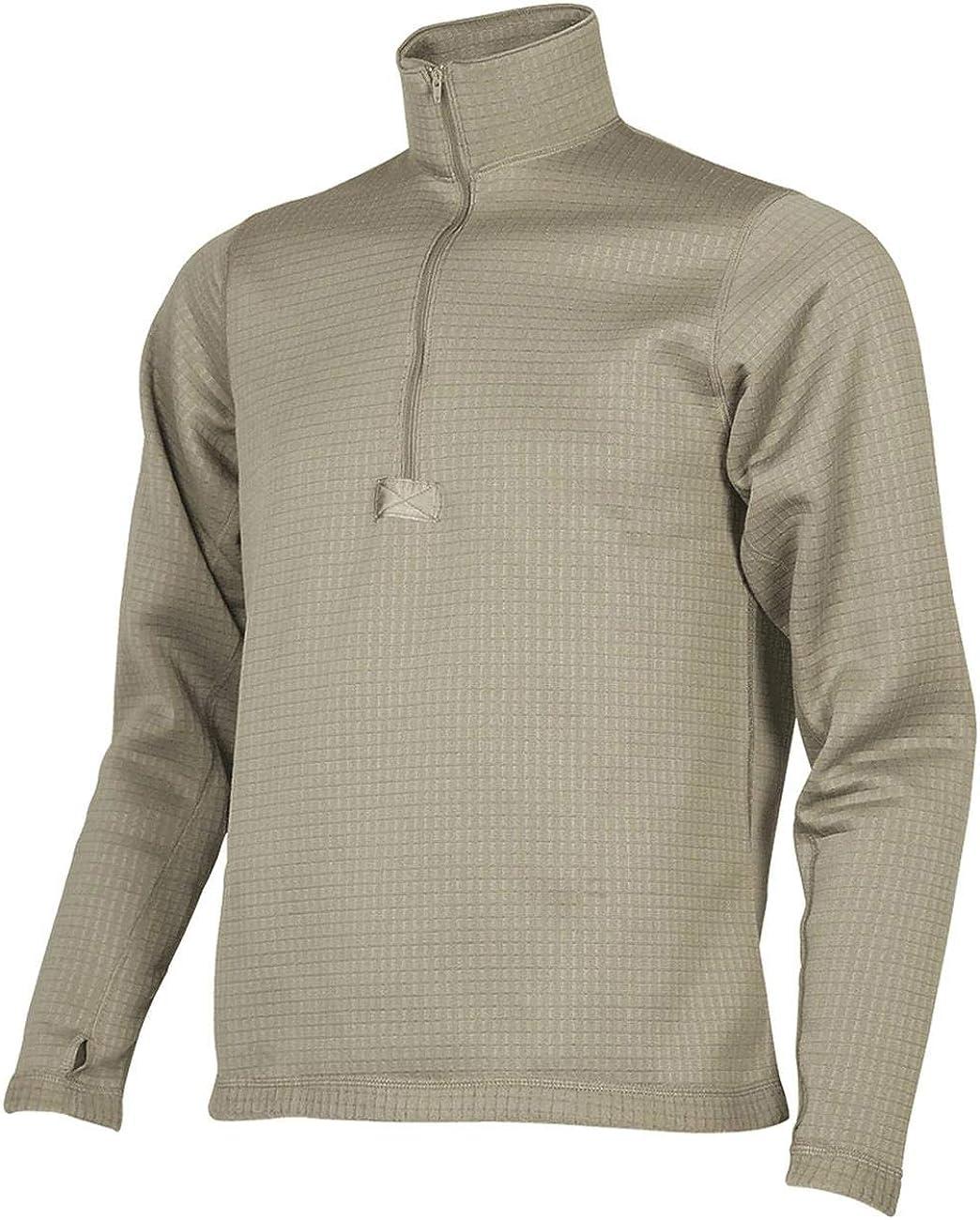ECWCS Gen III Level 2 Thermal Grid Fleece Shirt, Made in USA